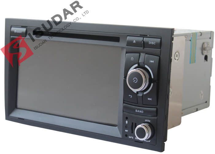 Original Front Panel 2 Din In Dash Car Dvd Player With Reverse Camera For A4 / Seat EXEO
