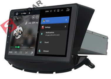 Schwarzer Doppellärm-Android-Selbstauto-Stereolithographie für Navigation Chevrolets Trax GPS-Radio
