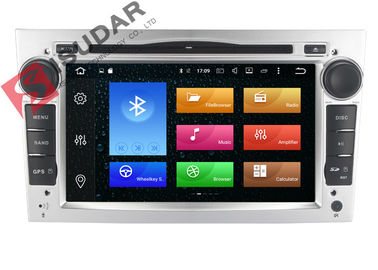 Silberner Platten-Opel Corsa-DVD-Spieler, Auto-Stereolithographie Androids Bluetooth mit Google Maps