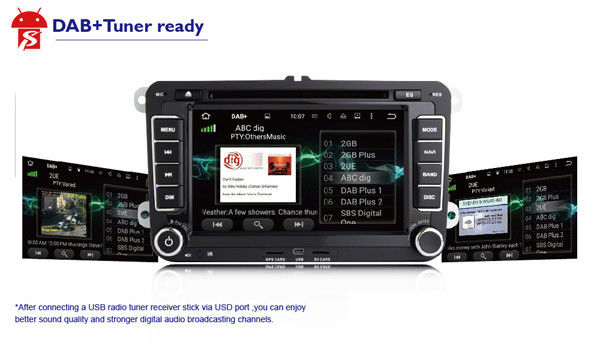 Chevy Tahoe/DVD-Spieler GMCs Yukon, in der Schlag-Touch Screen Auto-Stereolithographie mit Bluetooth/Gps